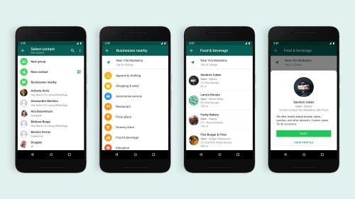 WhatsApp est à deux doigts de réinventer les « Pages Jaunes »
