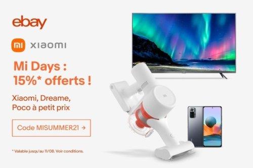 Les Mi Days de Xiaomi vous font profiter de belles offres sur eBay!
