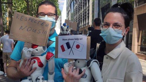 Les salariés français de Softbank Robotics se battent pour sauver les robots Nao et Pepper