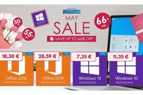 Windows 10 Pro : le système d'exploitation est à 7,35 euros chez GoDeal24