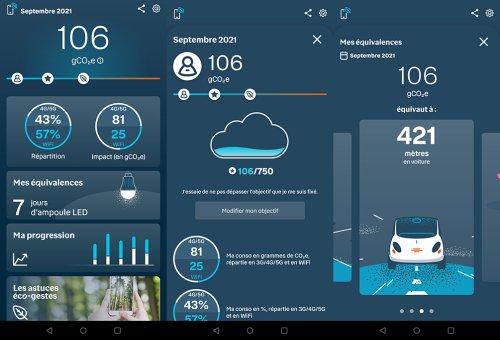 Une application pour mesurer l'empreinte carbone des usages numériques des Français