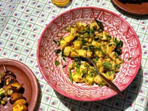 A Maximalist Potato Salad - 101 Cookbooks