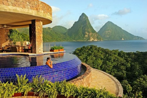 Escape to the Caribbean with a splurge at one of these luxury stays