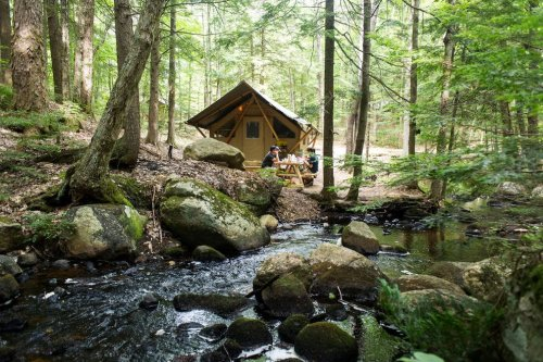 Enjoy the outdoors at 10 of the best glamping sites in New England