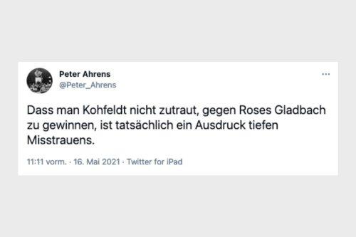 """""""Gespannt, Werder zweite direkte Absteiger wird"""""""