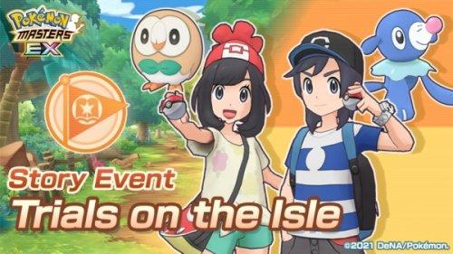 Pokemon Masters EX's latest update introduces two Sync Pairs, Elio & Popplio and Selene & Rowlet