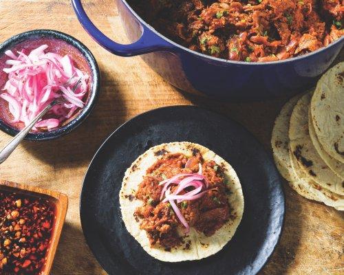 Instant Pot Cochinita Pibil Tacos