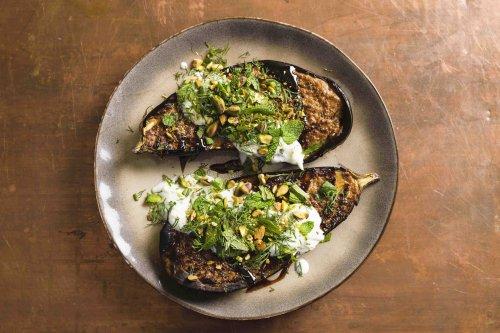 Caramelized Tahini Eggplant