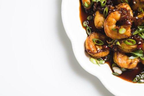 Vietnamese-Style Caramel Shrimp