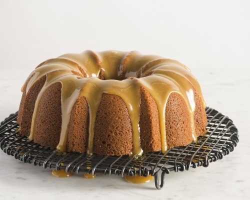 Glazed Sour Cream and Brown Sugar Bundt Cake