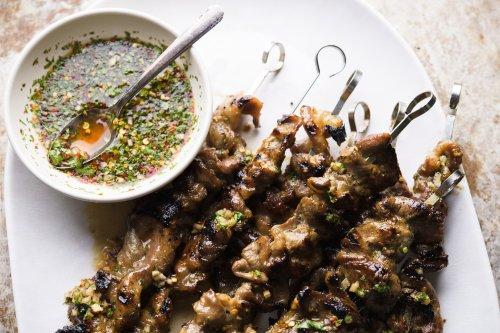 Thai Grilled Pork Skewers (Moo Ping)
