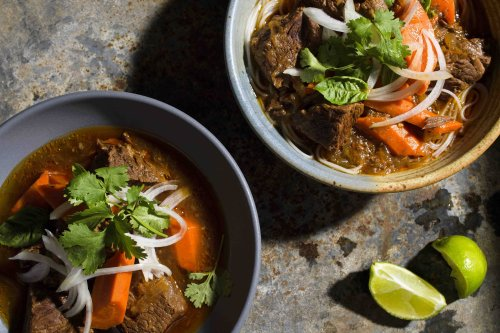 Vietnamese Beef Stew with Star Anise and Lemon Grass (Bò Kho)