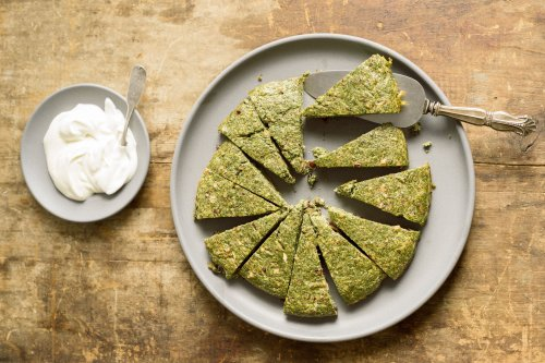 Baked Persian Herb Omelet (Kuku Sabzi)