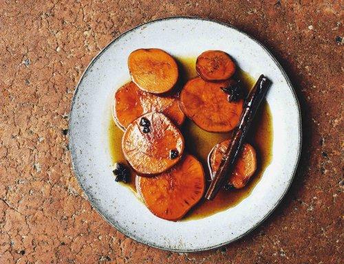 Candied Sweet Potatoes (Camote Enmielado)