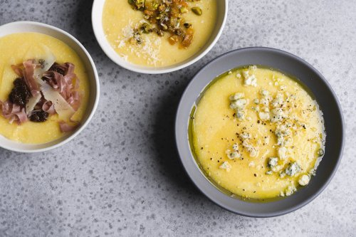 Soft Polenta with Easy Toppings (Fast & Slow)