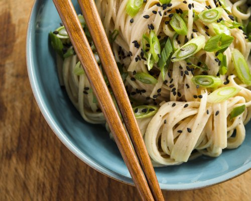 Cold Udon with Sesame Sauce