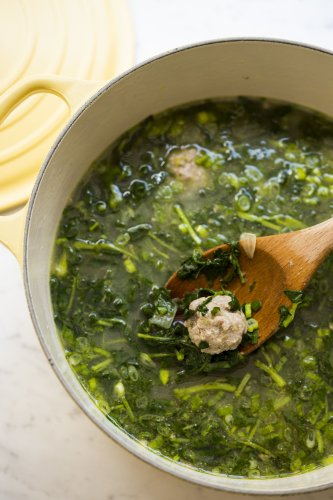 Vietnamese Meatball and Watercress Soup (Canh)