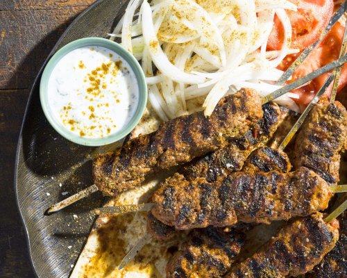 Turkish Minced-Meat Kebabs