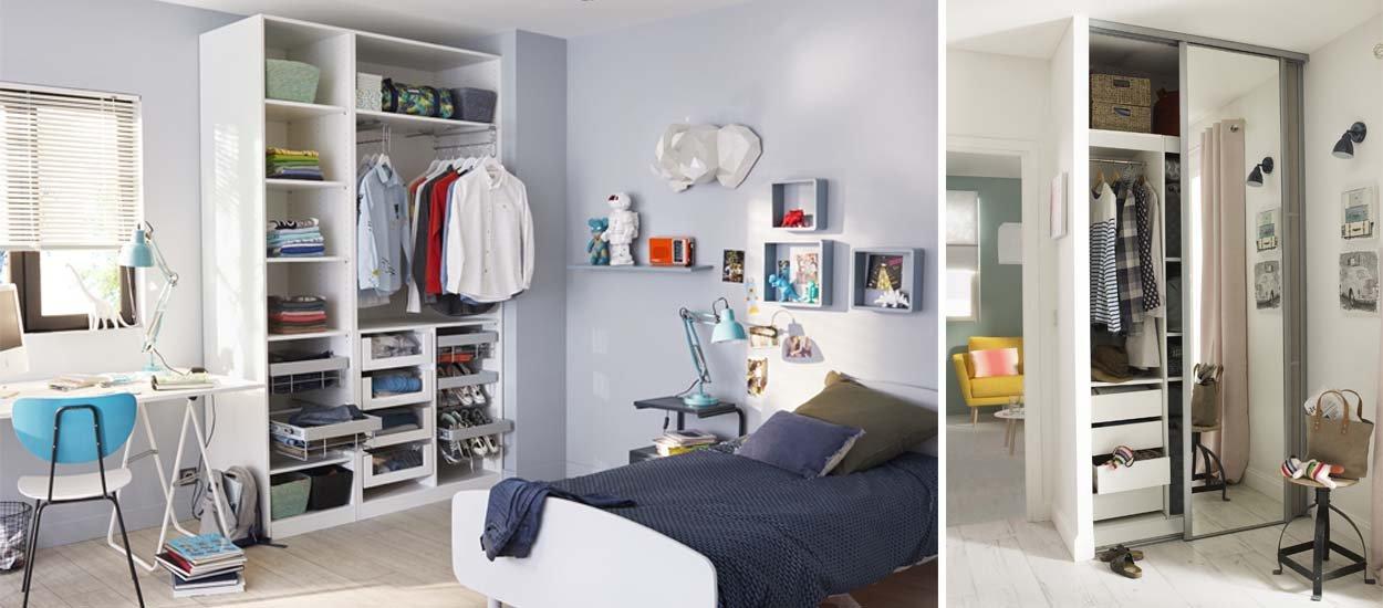 Chambre, couloir, buanderie : dans quelle pièce installer votre dressing ?
