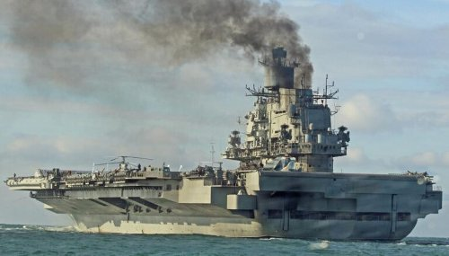 The U.S. Navy's Nightmare? This Was Russia's Dream Aircraft Carrier.
