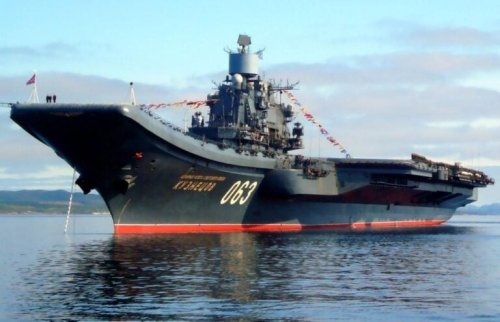 Russia Tried to Build A Massive Nuclear-Powered Aircraft Carrier (And Failed)