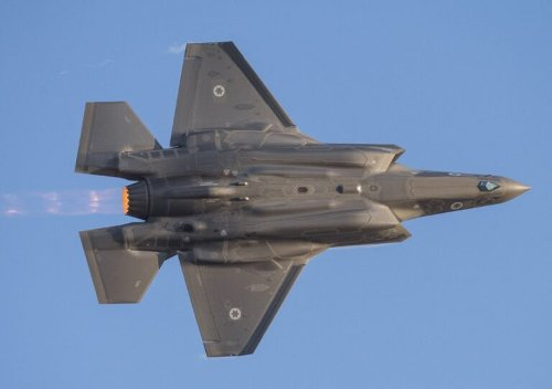 Israel's Very Special (and Very Deadly) F-35s Are Training for War in Italy