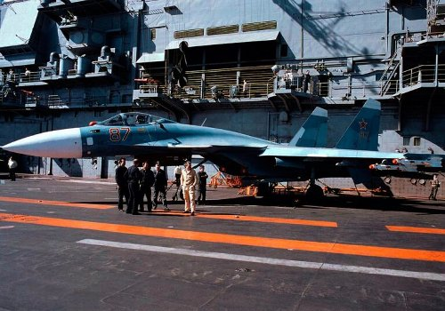 Russia's Only Aircraft Carrier Is a Joke (Its Fighter Jets Might Be Even Worse)