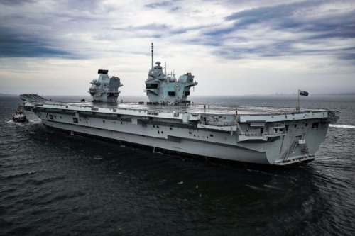 The Royal Navy's New Aircraft Carrier Has a Problem: It's Noisy As Hell