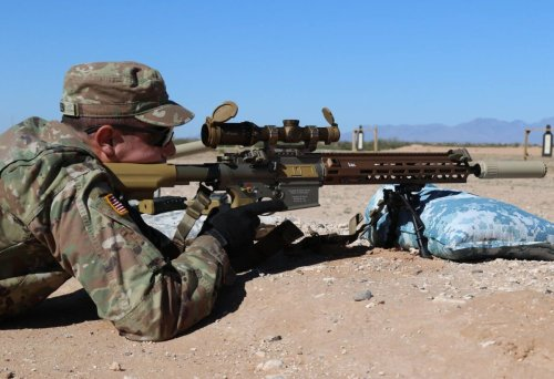 The U.S. Army's New M110A1 Marksman Rifle Is a True Killer