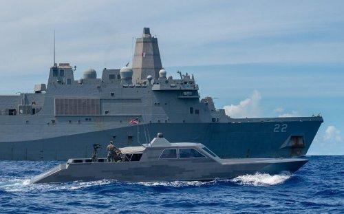 Why Are U.S. Navy Warships and Coast Guard Boats Anywhere Near Iran?
