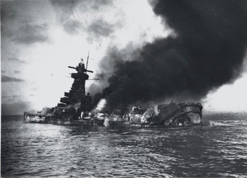 The Story of How the Royal Navy Tricked a Nazi Battelship to Commit Suicide
