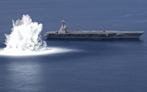 Shock Trials: How the U.S. Navy Nearly Bombs New Aircraft Carriers as a Test