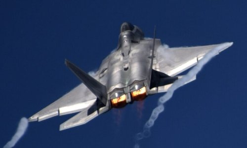 The Story of How an F-22 Raptor Stealth Fighter Was 'Shot Down' By France