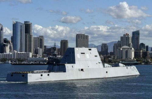 The Navy's F-22: Why the Stealth Zumwalt Destroyers Failed