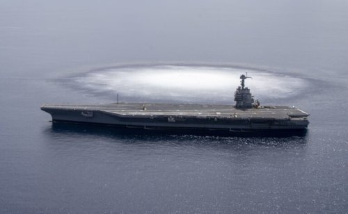 Missile Swarms: How China Could Sink a U.S. Navy Aircraft Carrier?