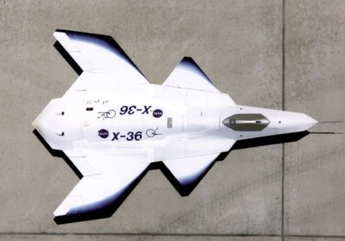 X-36: Why the Air Force Said No To This Bizarre-Looking Plane