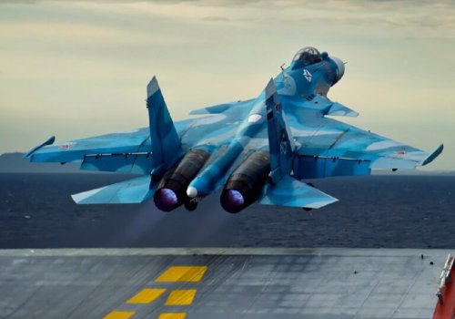 Does Russia's Only Aircraft Carrier Have a Death Wish?
