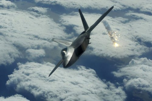 How an F-22 Stealth Fighter Pilot Scared Away an Iranian F-4 Phantom