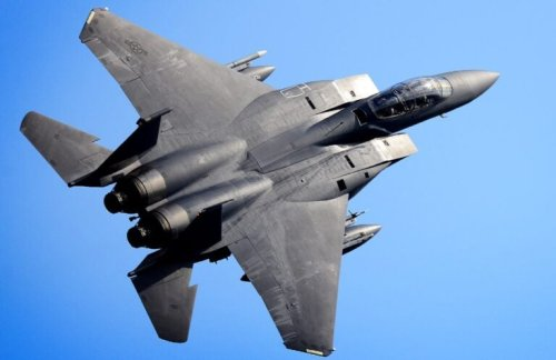 An F-15 Fighter Jet With Its Tail on Fire? (The Pilot Had No Clue)