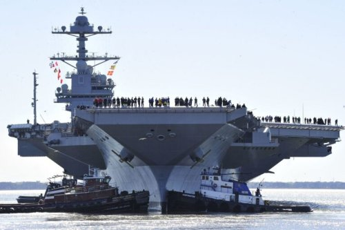 Ford: The Navy's Most Powerful Aircraft Carrier Could Deploy Next Year