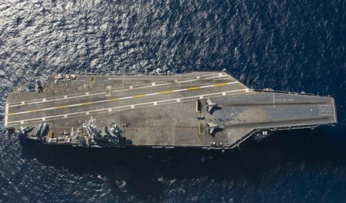 U.S. F-35s on a British Aircraft Carrier in the Pacific Sends a Powerful Message