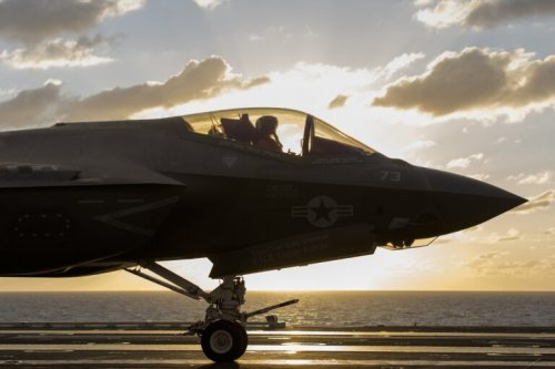 History Made: Stealth F-35Cs Have Made Their First Aircraft Carrier Deployment
