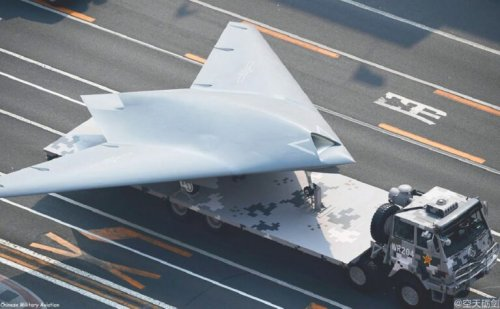 China's GJ-11 Sharp Sword Drone: Ready for A Taiwan War?