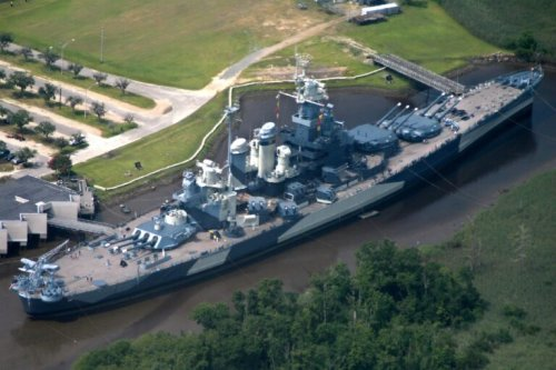 The Comeback: U.S. Navy Battleship USS North Carolina Is Back in the Water
