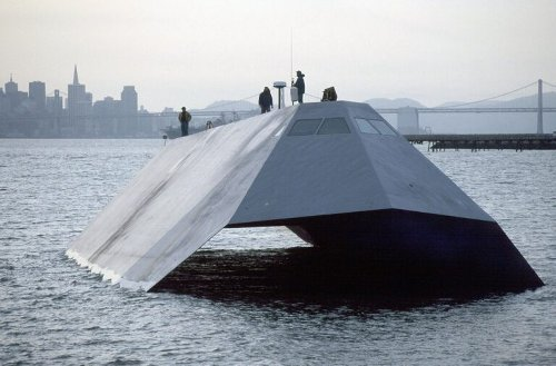 Sea Shadow: The U.S. Navy Tried to Build a 'Stealth Fighter' on the Water