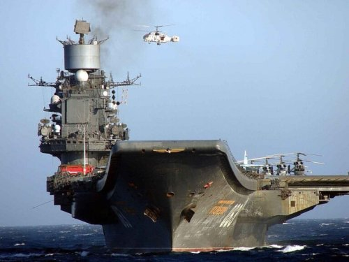 Russia's Only Aircraft Carrier Is a Floating Coffin Waiting to Sink