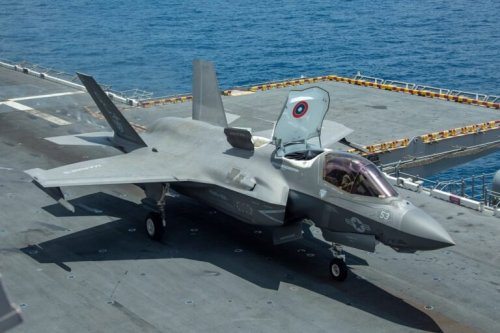 The U.S. Marine Corps Has Its First Stealth F-35 Fighter Squadron