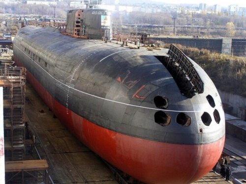 Russia's 'Underwater Aircraft Carrier' Submarine Is Nearly Ready for Service