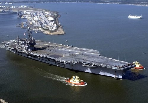 This Was the U.S. Navy's Last 'Conventional' Aircraft Carrier (And a Killer)