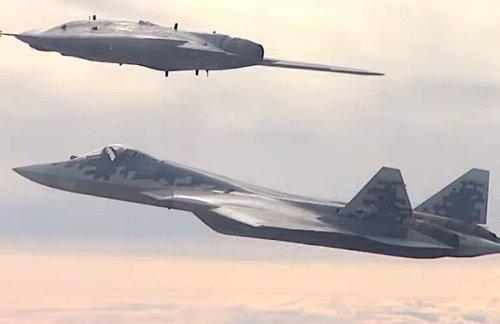 Coming Soon: Russia's Okhotnik Stealth Strike Drone